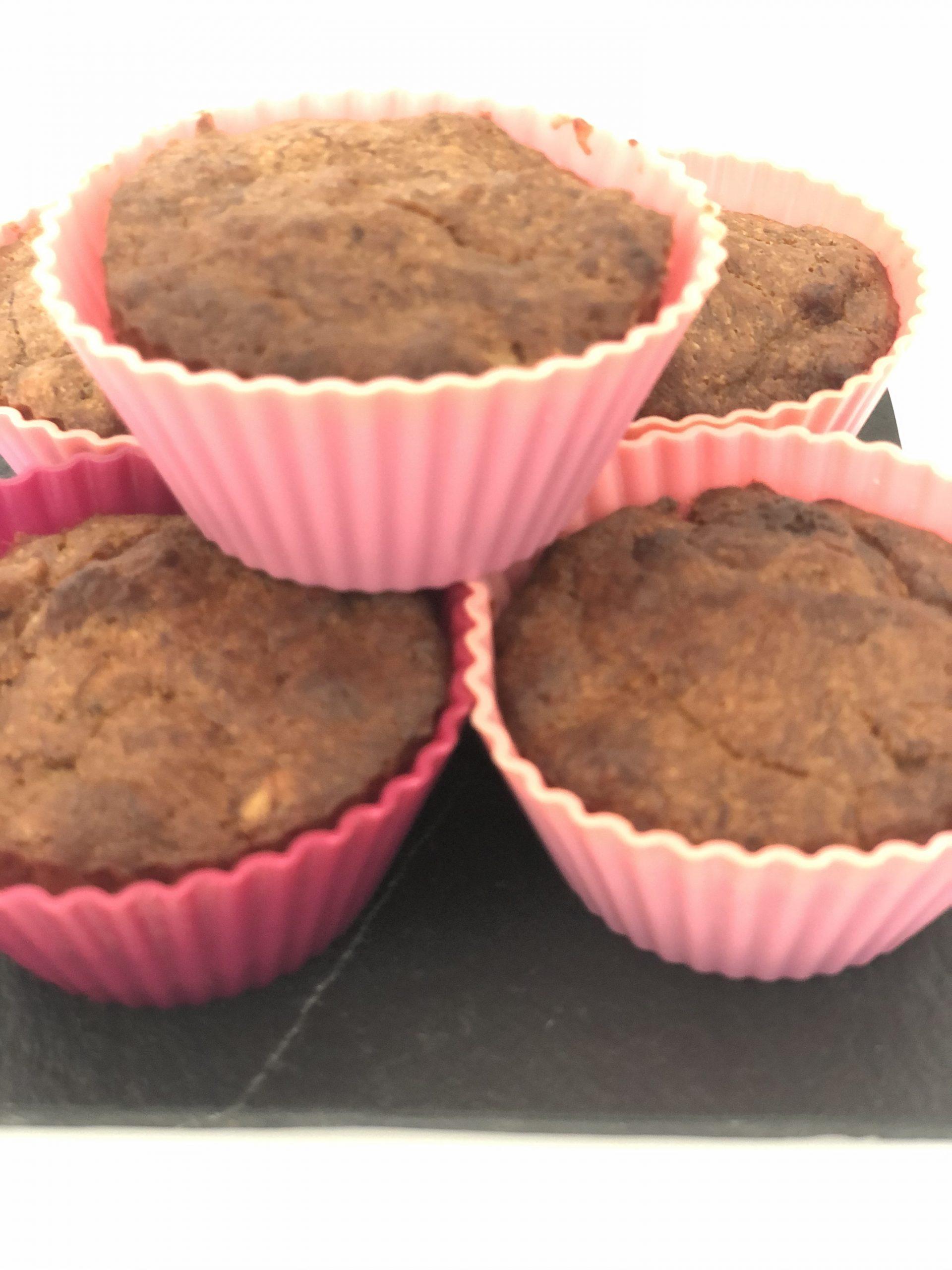 Muffins cu banane și stafide